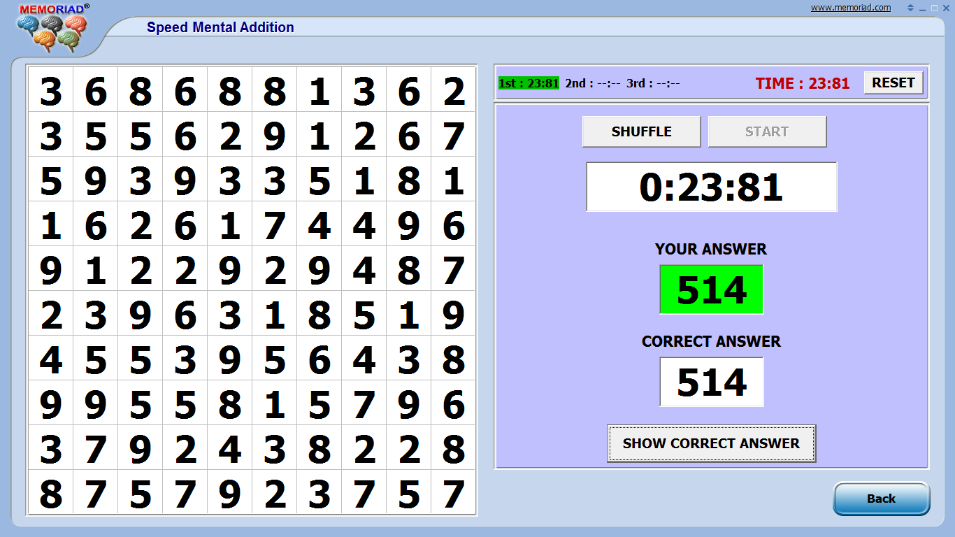 Mental Multiplication World Record